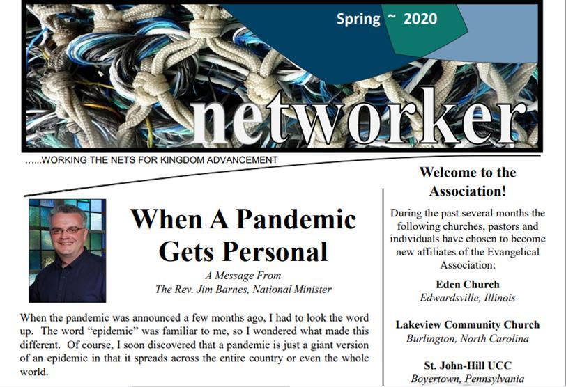 Spring Networker spotlights pandemic
