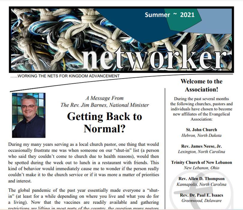 Summer 2021 Networker Newsletter